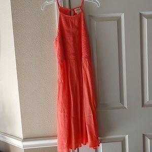 Mossimo Supply Co . Coral sundress